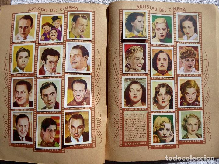 Coleccionismo Álbumes: ALB-86. FOTO-PELÍCULA. ARCHIVO FOTOGRÁFICO ARTISTAS CINE AÑOS 40. 360 FOTOS. FALTAN 18. COLOREADAS - Foto 22 - 236557395