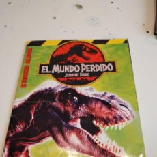 Collectionnisme Albums: M-7 ALBUM ALBUM EL MUNDO PERDIDO JURASSIC PARK 2 MERLIN COLLECTIONS FALTA 4 CROMOS VER FOTOS. Lote 238025610