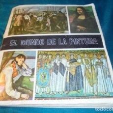 Coleccionismo Álbumes: EL MUNDO DE LA PINTURA. ALBUM INCOMPLETO ( FALTAN 20 CROMOS) 1967 (#). Lote 239853600