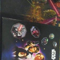 Coleccionismo Álbumes: ALBUM STAR WARS LECLERC 48/54 EN FRANCES (LEER DESCRIPCIÓN). Lote 243829580