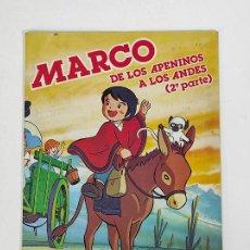 Coleccionismo Álbumes: ÁLBUM DE CROMOS - MARCO DE LOS APENINOS A LOS ANDES 2ª PARTE DANONE - 96 CROMOS FALTAN 4 CROMOS. Lote 245361610