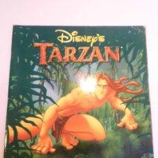 Coleccionismo Álbumes: ALBUM TARZAN DE DISNEY - 132 CROMOS DE 200 - PANINI. Lote 246136845