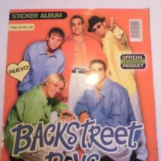Coleccionismo Álbumes: ALBUM BACK STREET BOYS FOREVER - 158 CROMOS DE 176 - DR - 1997. Lote 246137745