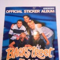Coleccionismo Álbumes: ALBUM BACK STREET BOYS - 173 CROMOS DE 176 - DR - 1997. Lote 246138005