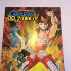 Coleccionismo Álbumes: ALBUM LOS CABALLEROS DEL ZODIACO - 174 CROMOS DE 239 - PANINI - 1986. Lote 246138375