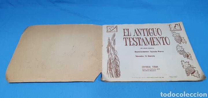 Coleccionismo Álbumes: EL ANTIGUO TESTAMENTO - EDITORIAL FERMA - 1968 - Foto 2 - 246672410