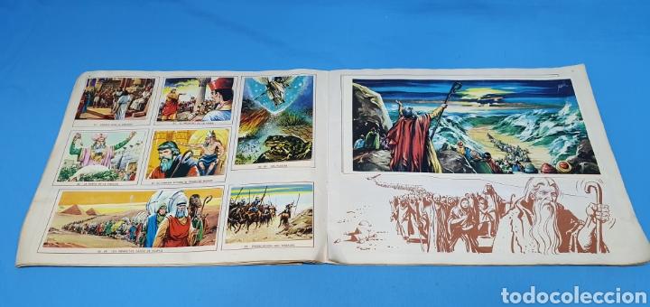 Coleccionismo Álbumes: EL ANTIGUO TESTAMENTO - EDITORIAL FERMA - 1968 - Foto 8 - 246672410