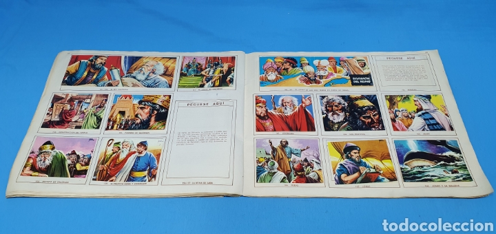 Coleccionismo Álbumes: EL ANTIGUO TESTAMENTO - EDITORIAL FERMA - 1968 - Foto 12 - 246672410