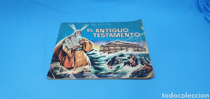 EL ANTIGUO TESTAMENTO - EDITORIAL FERMA - 1968 (Coleccionismo - Cromos y Álbumes - Álbumes Incompletos)