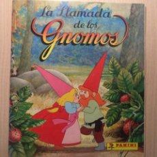 Coleccionismo Álbumes: ALBUM DE CROMOS 'LA LLAMADA DE LOS GNOMOS' 1987. Lote 246682055