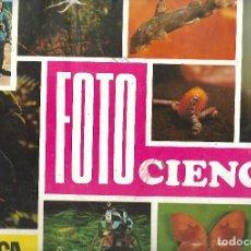 Coleccionismo Álbumes: ALBUM FOTO CIENCIAS DE 1972 CON 145 CROMOS. Lote 247194490