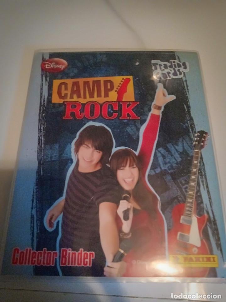ÁLBUM DE CROMOS CAMP ROCK PANINI (Coleccionismo - Cromos y Álbumes - Álbumes Incompletos)