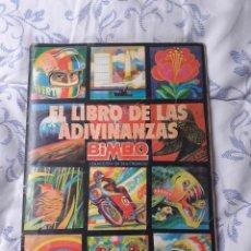 Collectionnisme Albums: ALBUM DE CROMOS EL LIBRO DE LAS ADIVINANZAS BIMBO INCOMPLETO. Lote 249173755