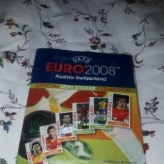 Coleccionismo Álbumes: ALBUM DE EUROCOPA 2008 DE CHICLES PANINI CASI COMPLETO. Lote 249280950