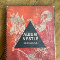 Coleccionismo Álbumes: ÁLBUM CROMOS NESTLÉ 1935-1936 / A ESTRENAR- SIN CROMOS. Lote 249475670