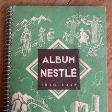 Coleccionismo Álbumes: ÁLBUM CROMOS NESTLÉ 1936 1937 - INCOMPLETO. Lote 249477340