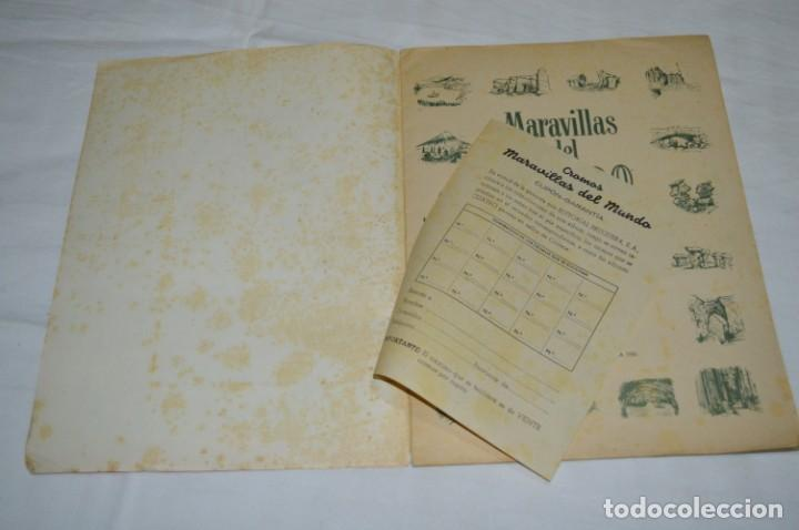 Coleccionismo Álbumes: Álbum vacío - Álbum I / MARAVILLAS del MUNDO - Editorial BRUGUERA - Años 50 - Buen estado - ¡Mirar! - Foto 3 - 250248735