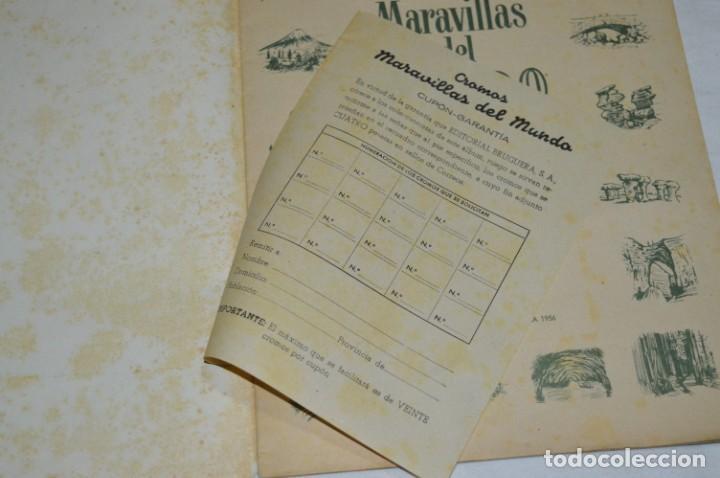 Coleccionismo Álbumes: Álbum vacío - Álbum I / MARAVILLAS del MUNDO - Editorial BRUGUERA - Años 50 - Buen estado - ¡Mirar! - Foto 4 - 250248735