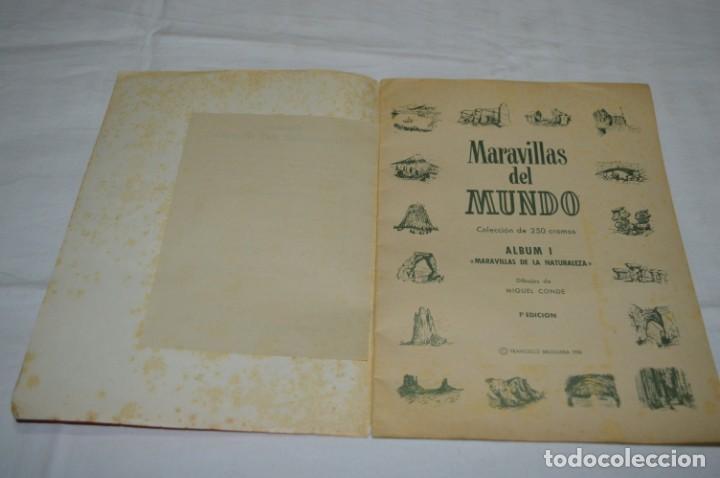 Coleccionismo Álbumes: Álbum vacío - Álbum I / MARAVILLAS del MUNDO - Editorial BRUGUERA - Años 50 - Buen estado - ¡Mirar! - Foto 5 - 250248735