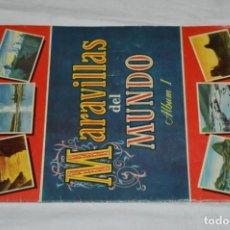 Coleccionismo Álbumes: ÁLBUM VACÍO - ÁLBUM I / MARAVILLAS DEL MUNDO - EDITORIAL BRUGUERA - AÑOS 50 - BUEN ESTADO - ¡MIRAR!. Lote 250248735