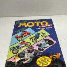 Coleccionismo Álbumes: ALBUM DE CROMOS INCOMPLETO. SUPER MOTO. MOTOR 16. EDICIONES ESTE. Lote 251919210