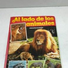 Coleccionismo Álbumes: ALBUM AL LADO DE LOS ANIMALES TELEINDISCRETA 1985 INCOMLETO FALTAN 16 CROMOS. Lote 252001690