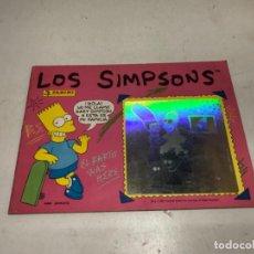 Coleccionismo Álbumes: ALBUM LOS SIMPSONS PANINI INCOMPLETO, 103 CROMOS PEGADOS DE 204. FALTAN 101. Lote 252152655