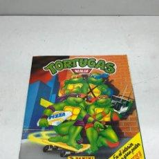 Coleccionismo Álbumes: TORTUGAS NINJA 1990 PANINI INCOMPLETO, 238 CROMOS PEGADOS DE 252. FALTAN SOLO 14. Lote 252155395