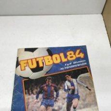 Coleccionismo Álbumes: FUTBOL 84 FIGURINE PANINI INCOMPLETO, 51 CROMOS PEGADOS DE 420. FALTAN 369. Lote 252156020