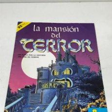 Coleccionismo Álbumes: ALBUM LA MANSIÓN DEL TERROR ED. ASTON INCOMPLETO, 95 CROMOS PEGADOS DE 162. FALTAN 67. Lote 252157320
