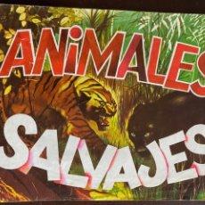Coleccionismo Álbumes: ALBUM INCOMPLETO - ANIMALES SALVAJES DE DIFUSORA DE CULTURA S.A. - SOLO FALTAN 5 CROMOS. Lote 253152595