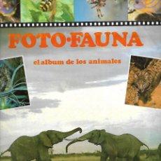 Coleccionismo Álbumes: EL ALBUM DE LOS ANIMALES DE 1985 DE 260 CROMOS SOLO LE FALTAN 2 EL Nº 54 Y 119. Lote 254485100