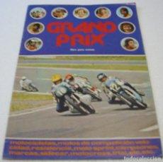 Coleccionismo Álbumes: GRAND PRIX ALBUM VACIO FHER 1977 MUY BUEN ESTADO -IMPORTANTE LEER ENVIOS. Lote 254971480
