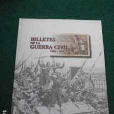 Coleccionismo Álbumes: ALBÚM DE BILLETES DE LA GUERRA CIVIL EL PAIS VACIO. Lote 255403465