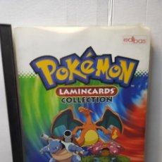 Coleccionismo Álbumes: ALBUM POKÉMON LAMICARDS COLLECTION DE EDBAS CON 135 CARDS. Lote 255628455