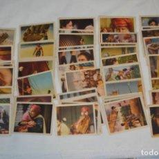 Coleccionismo Álbumes: EL LADRÓN DE BAGDAD / LOTE 163 CROMOS SIN PEGAR Y SIN REPETIR / AÑO 1944 - EDITORIAL LUYVE - ¡MIRA!. Lote 256054645