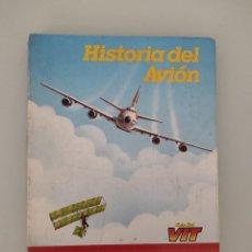 Coleccionismo Álbumes: ALBUM CROMOS IBERIA HISTORIA DEL AVIÓN. Lote 257501215