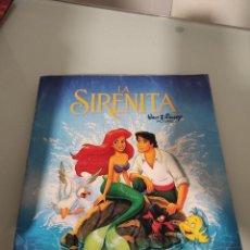 Coleccionismo Álbumes: ALBUM DE CROMOS DE LA SIRENITA. Lote 257527855