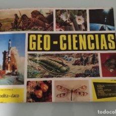 Coleccionismo Álbumes: ALBUM CROMOS ANTIGUO 1967 GEO CIENCIAS. Lote 257596185