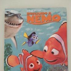 Coleccionismo Álbumes: ALBUM CROMOS BUSCANDO A NEMO PIXAR. Lote 257597945
