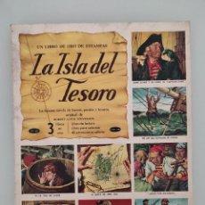 Coleccionismo Álbumes: ALBUM DE CROMOS O ESTAMPAS ANTIGUO LA ISLA DEL TESORO. Lote 257599090