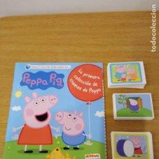 Collectionnisme Albums: PEPPA PIG ALBUM Y 130 CROMOS SIN REPETIR. Lote 257611650