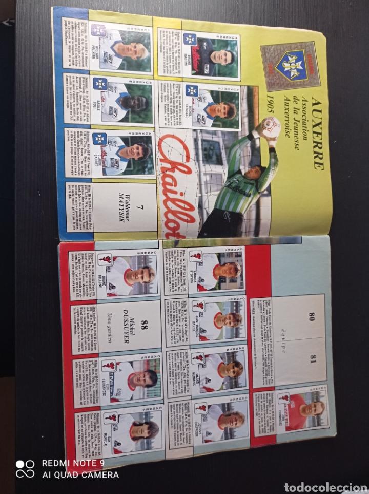Coleccionismo Álbumes: Album de fútbol Foot 90 en images. Panini ligue 1 (liga francesa) - Foto 3 - 258871330