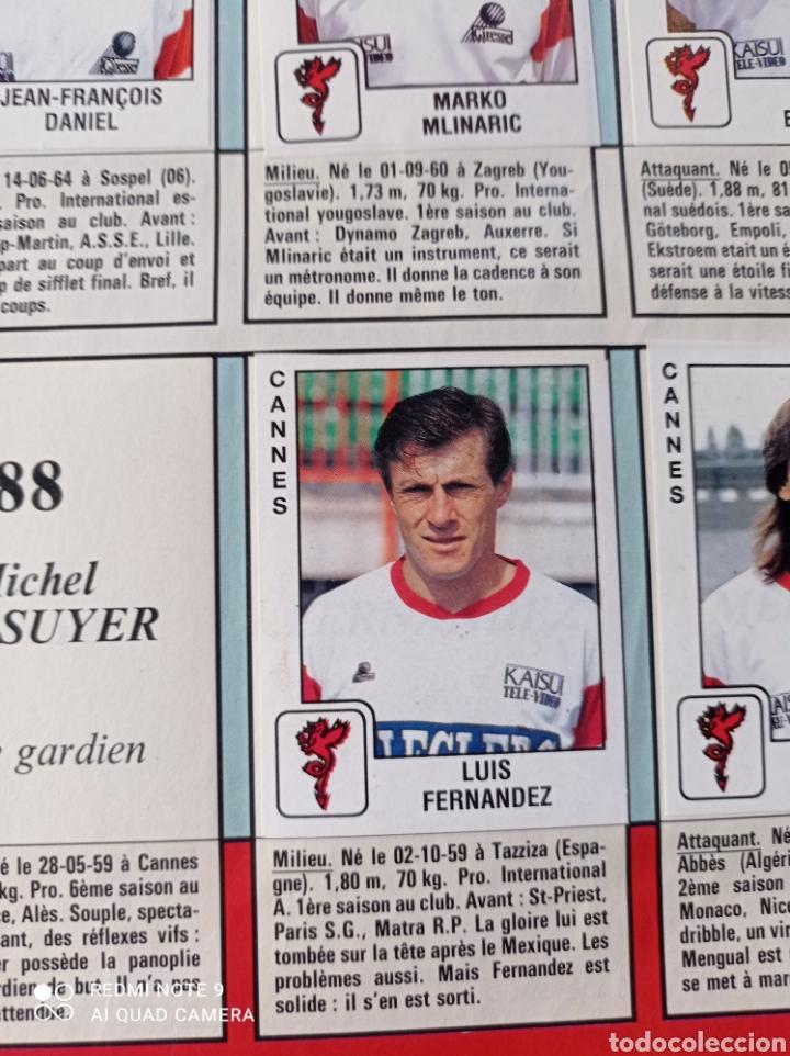 Coleccionismo Álbumes: Album de fútbol Foot 90 en images. Panini ligue 1 (liga francesa) - Foto 4 - 258871330