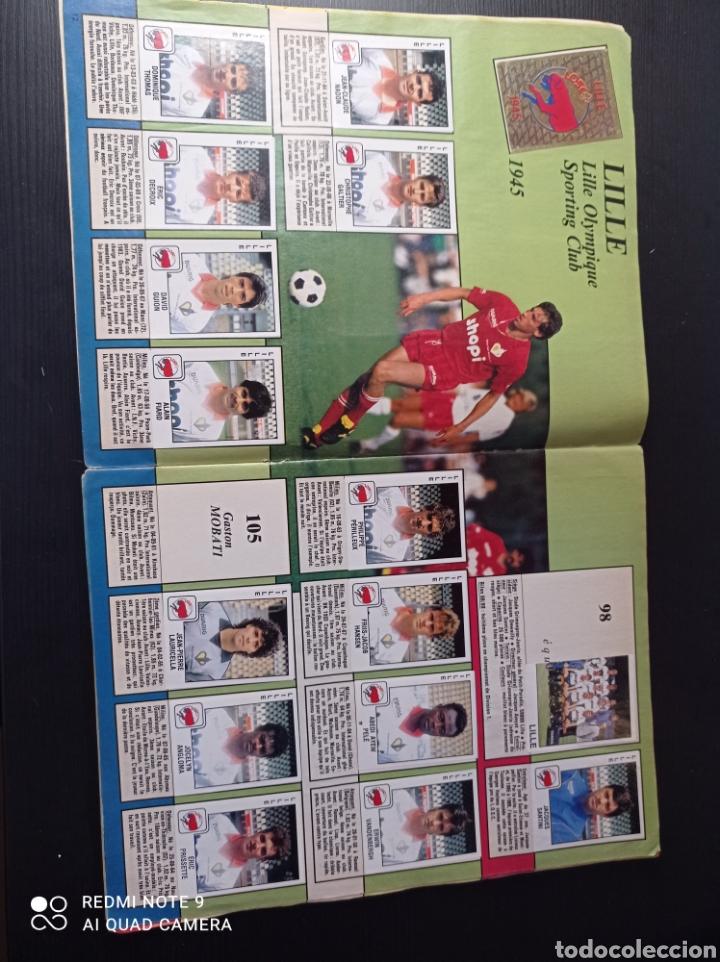 Coleccionismo Álbumes: Album de fútbol Foot 90 en images. Panini ligue 1 (liga francesa) - Foto 5 - 258871330