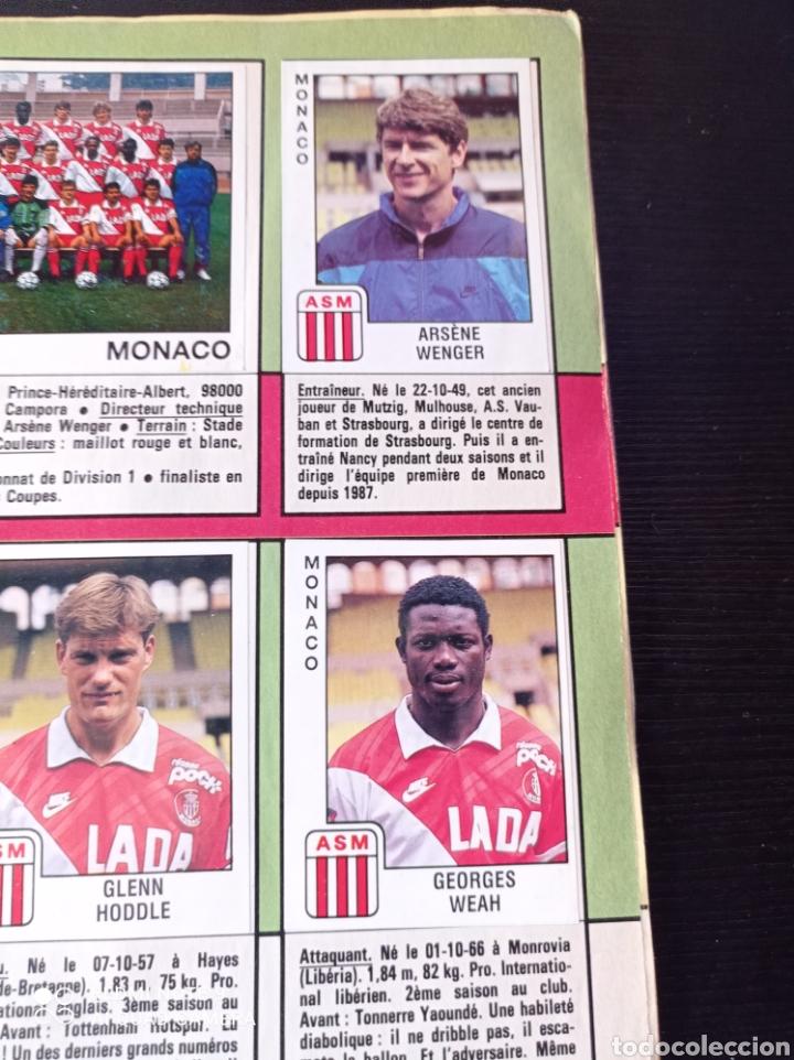Coleccionismo Álbumes: Album de fútbol Foot 90 en images. Panini ligue 1 (liga francesa) - Foto 11 - 258871330