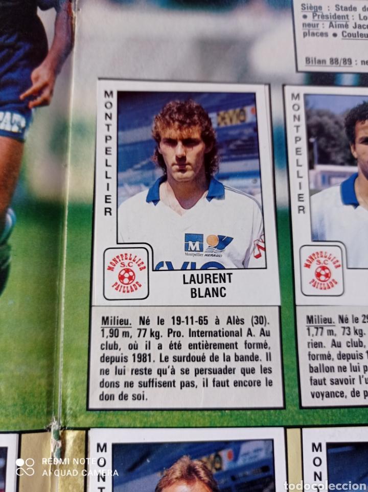 Coleccionismo Álbumes: Album de fútbol Foot 90 en images. Panini ligue 1 (liga francesa) - Foto 13 - 258871330
