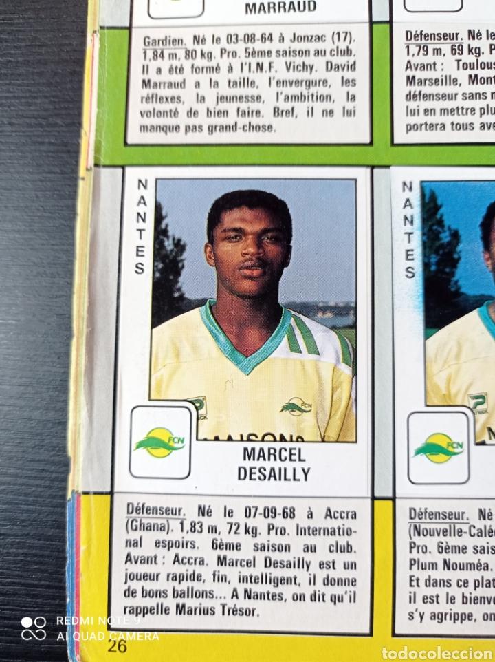 Coleccionismo Álbumes: Album de fútbol Foot 90 en images. Panini ligue 1 (liga francesa) - Foto 17 - 258871330