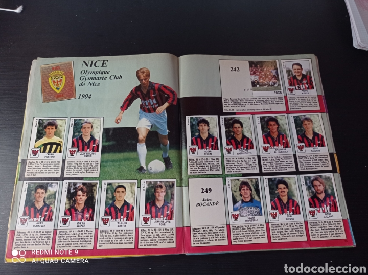 Coleccionismo Álbumes: Album de fútbol Foot 90 en images. Panini ligue 1 (liga francesa) - Foto 18 - 258871330