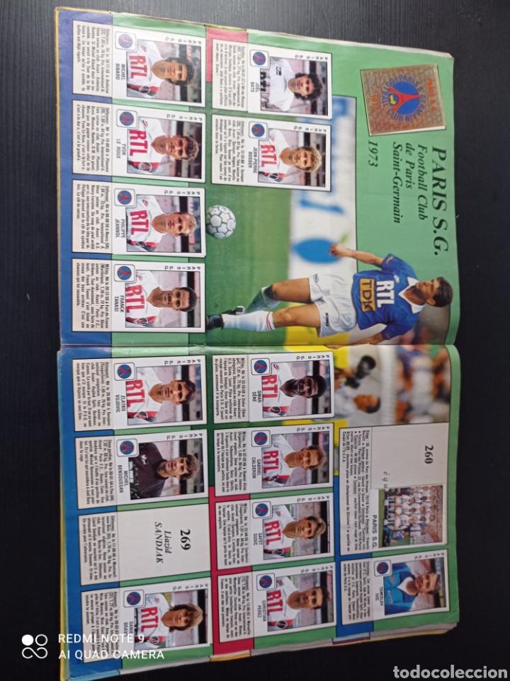 Coleccionismo Álbumes: Album de fútbol Foot 90 en images. Panini ligue 1 (liga francesa) - Foto 19 - 258871330